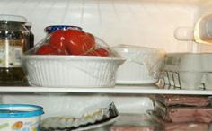 Alimentos Quentes na Geladeira